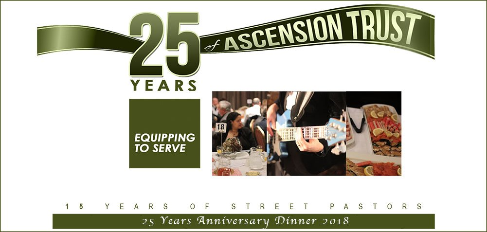 Ascension Trust Special 25 Years Anniversary Dinner 10th November 2018