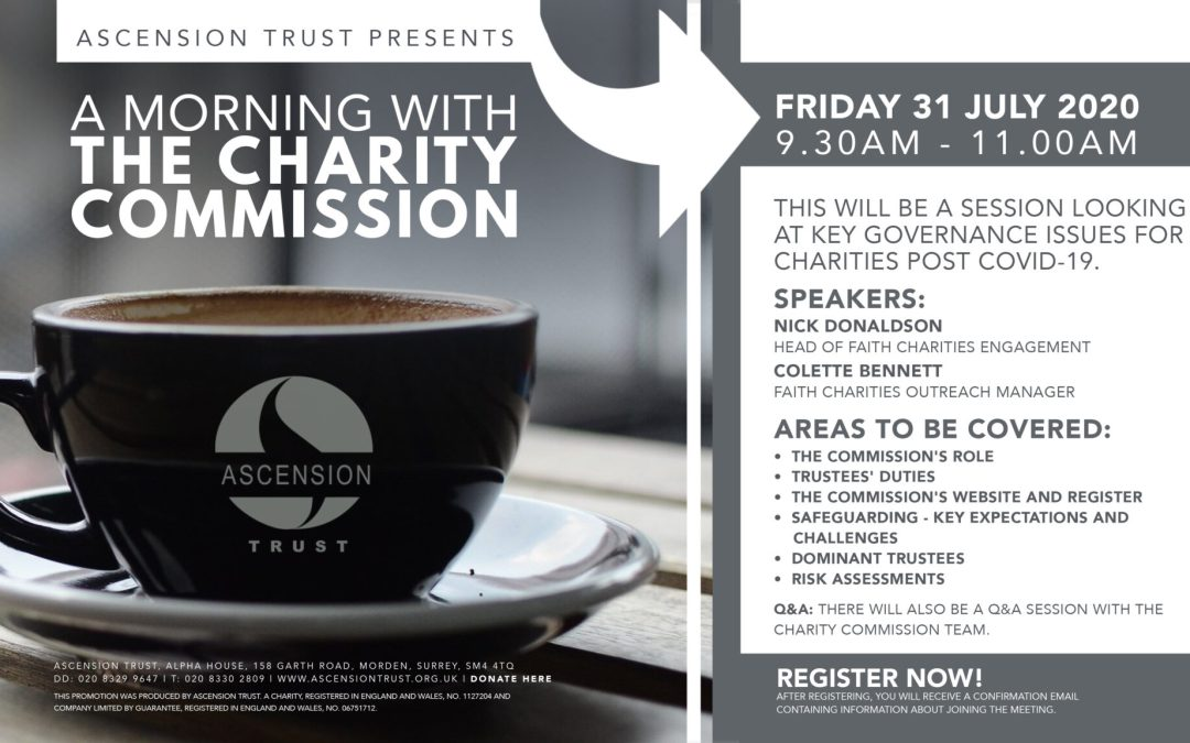 A MORNING WITH THE CHARITY COMMISSION