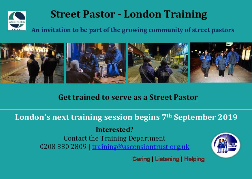 Street Pastor – London Training