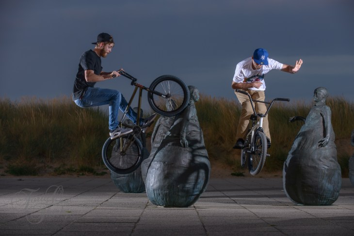 Jamie Witts and Marc Bell - Weeble Wall Ride and Slingers, South Shields