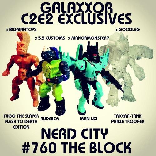 Galaxxor C2E2 exclusive