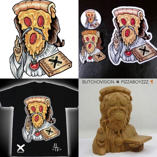 Pizza God cheesus crust 1
