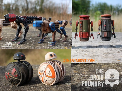The Droid Foundry 3D print