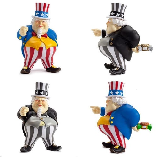 Uncle Scam vinyl figures