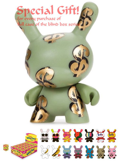 andy warhol dunny blind box series