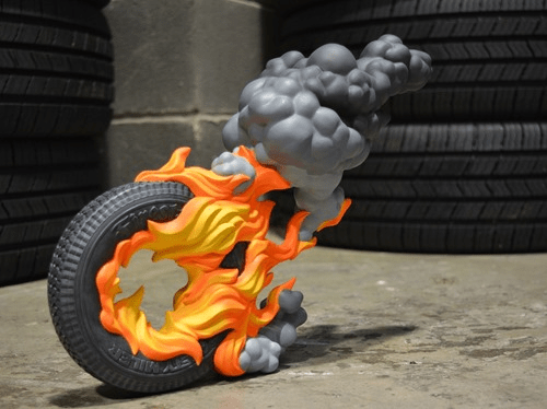Toyqube Firestarter polystone