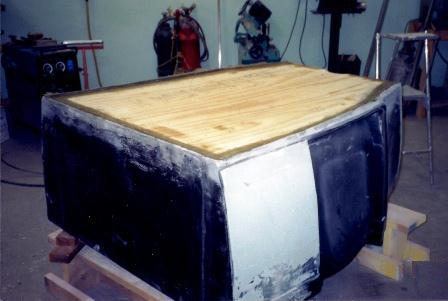 How to install fiberglass floorboard