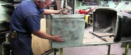Street Rod Hot Rod Fiberglass Bodywork and Paint