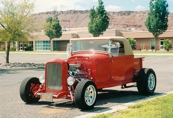 how to build a street rod 1928 Ford Model A roadster pickup 1