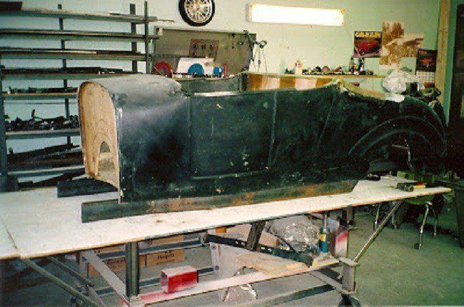 street rod chassis build