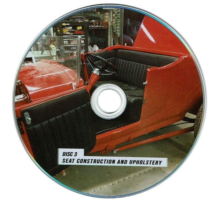 Street Rod Upholstery How To Tuck and Roll