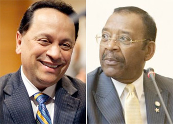 ##http://www.streetsblog.org/2009/03/18/the-four-stooges/##Fare Hike Four## members Pedro Espada, Jr. and Ruben Diaz, Sr. both face challengers in today's primary. Will they have twinkles in their eyes after the votes get counted? Photos: ##http://www.observer.com/2010/slideshow/132385/espada-diaz##NY Observer/candidate sites##