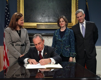 Mayor Bloomberg just signed two bills making domestic violence and hate crime data public. Why won't he support the same for traffic crimes? Photo: __
