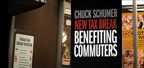 In his recent re-election campaign, Chuck Schumer ran ads touting his support of transit tax benefits. Those benefits are now expiring, however.