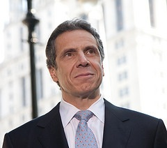 Now that the legislature has passed on deficit reduction, the fate of the MTA's finances are in Andrew Cuomo's hands. Photo: