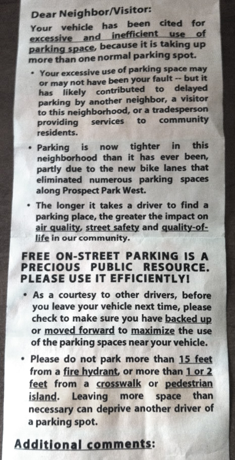 The agony of free parking