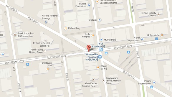 Was the Victim of the Jackson Heights MTA Bus Crash Jaywalking ... Q Bus Map on