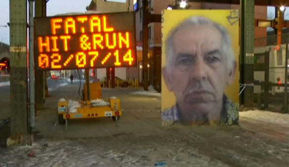 Ruben Rivera, 81, was killed in East New York by a truck driver who fled the scene. Image: News 12