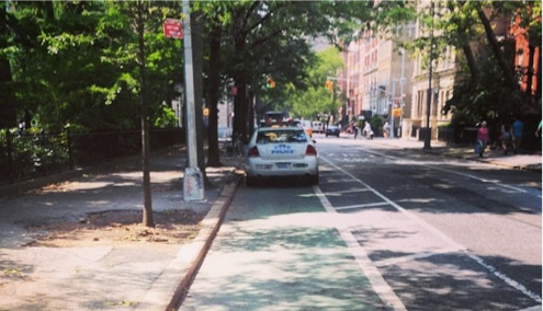 Washington Square North, 6th Precinct. Photo: ##http://instagram.com/p/qM2fIMIZma/##jennifergolby/Instagram##