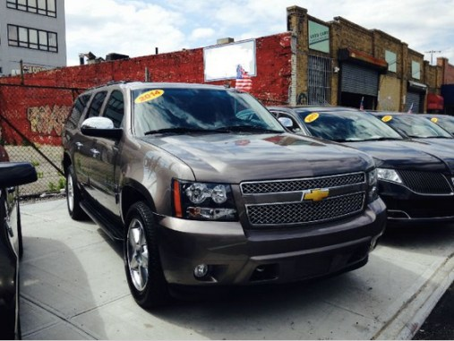 Is this Chevy Suburban priced to move off the sidewalk?