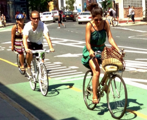 Bill de Blasio's new goals for bicycling aren't as ambitious as his old goals for bicycling. Photo: Juha Uitto/Flickr