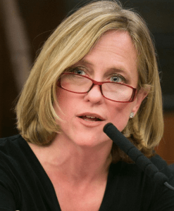 Queens Borough President Melinda Katz thinks parking mandates are more important than Photo: MelindaKatz/Twitter