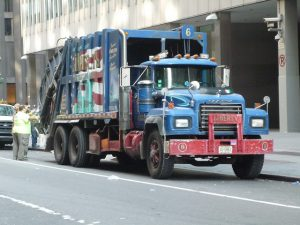 Instead of serving customers all across the city, what if trash haulers were awarded contracts by neighborhood? Photo: Jason Lawrence/Flickr