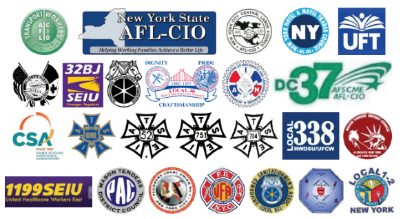 Unions whose leaders think it's ok for bus drivers to kill law-abiding New Yorkers