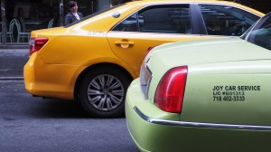 Green, yellow, black? Does it matter? And do they reduce congestion or make it worse? Photo: Johannes Ortner/Flickr