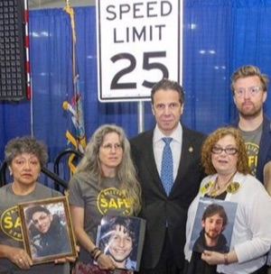 Cuomo's intransigence on toll reform puts thousands of New Yorkers in drivers' cross-hairs. Photo: Families for Safe Streets