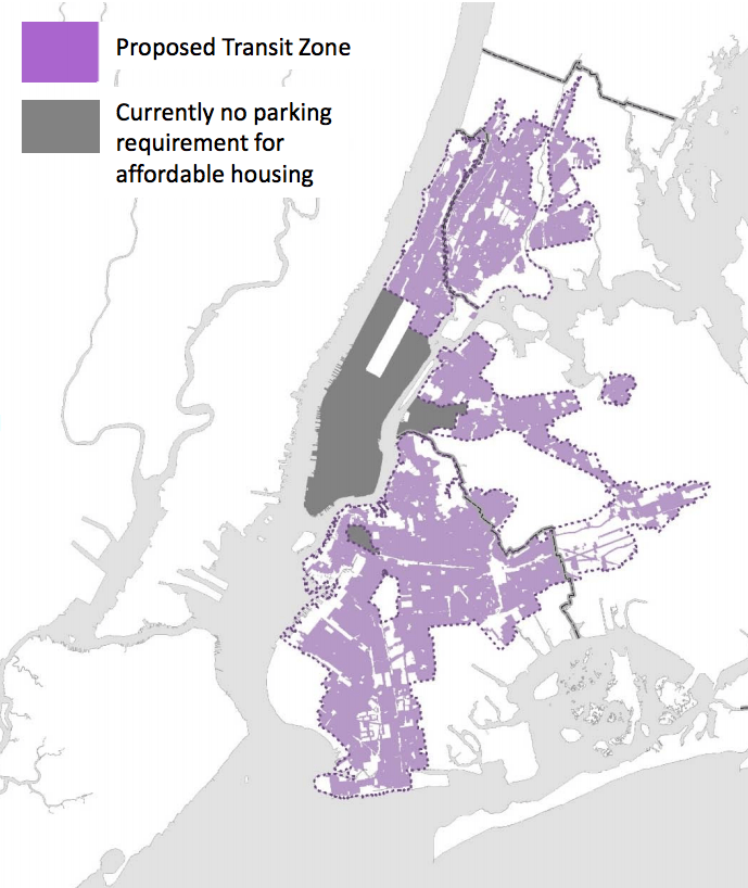 Nyc Housing Gov: This Map Shows Where De Blasio Wants To Reduce Parking