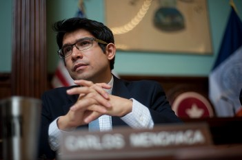 Council Member Carlos Menchaca hopes small pieces of legislation like his LPI bill can help build a greater understanding of Vision Zero policies. Photo: William Alatriste