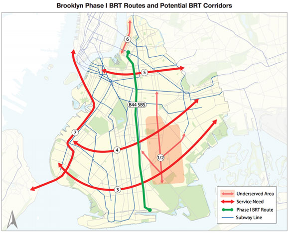Nyc Subway Map 2006.4 Reasons A 2 5 Billion Brooklyn Queens Streetcar Doesn T Add Up