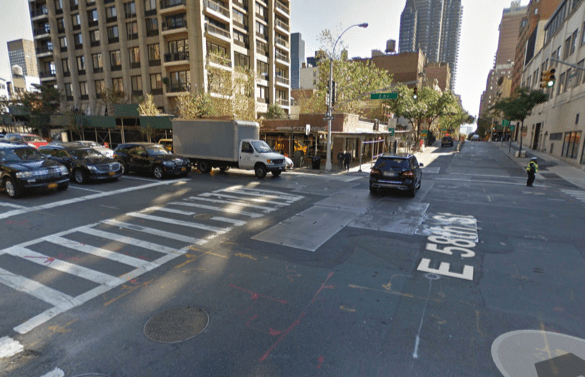 Teresa Martinelli was fatally injured by a motorist at Second Avenue and E. 58th Street on July 1.