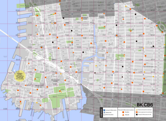 "The eleven ""infill"" stations added by DOT after the initial station map was approved are marked in black. Image: DOT"