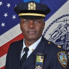 Deputy Inspector Clint A. McPherson, commanding officer of the 19th Precinct. Motorists have killed at least six people walking in the precinct in 2016 as officers crack down on cyclists.