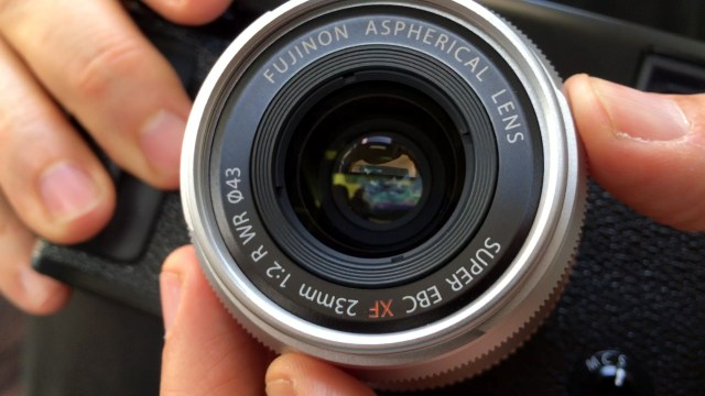 Fuji 23mm F2 Lens Hands On First Look