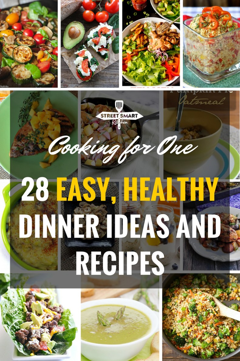 Cooking for one 28 easy healthy dinner ideas and recipes cooking for one can be such an immense challenge that some singles may not make the forumfinder Gallery