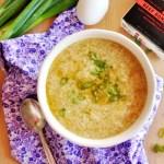 5-minute egg drop soup