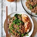 Soba Noodles with Chipotle Pecan Pesto