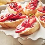 Double Strawberry Toast