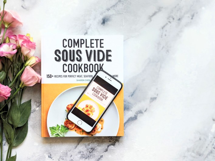 Print copy and digital copy of Complete Sous Vide Cookbook