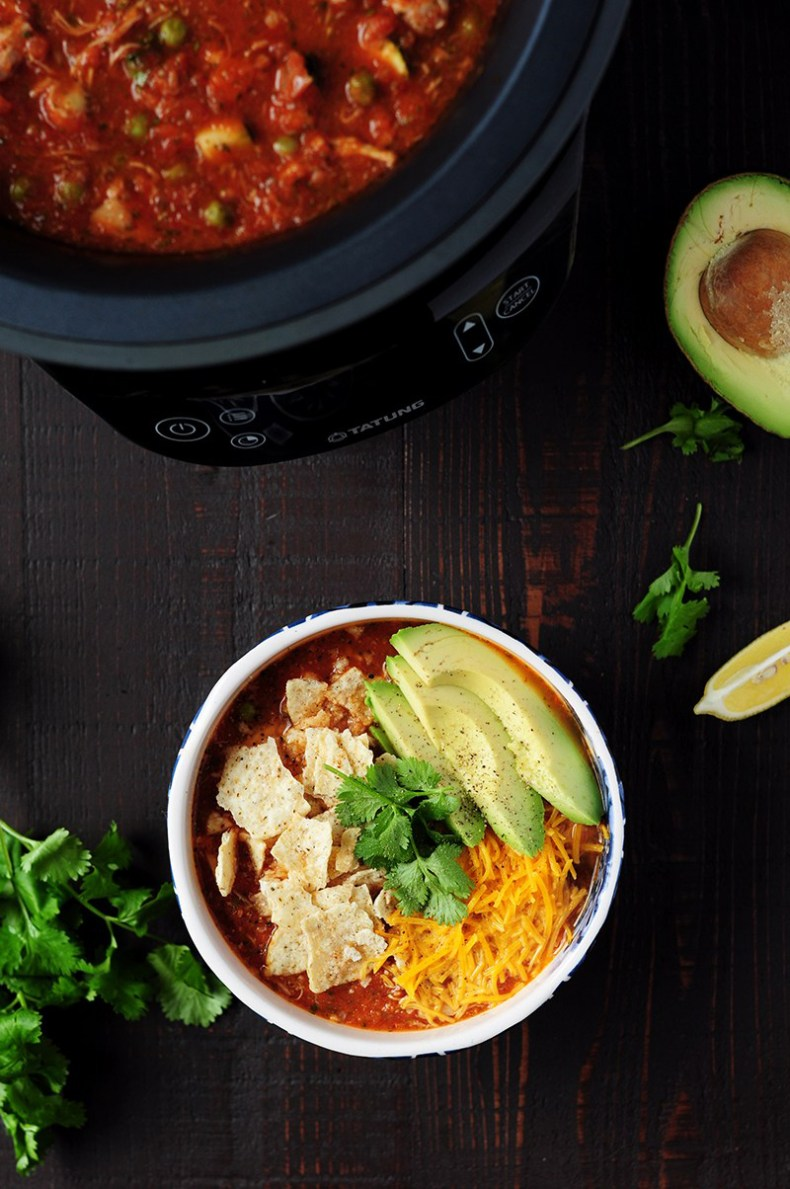 Authentic chicken tortilla soup made in a Fusion Cooker with homemade chicken broth and shredded chicken from the broth. No hassle, no babysitting, no waste. Set and forget for a hearty delicious soup!