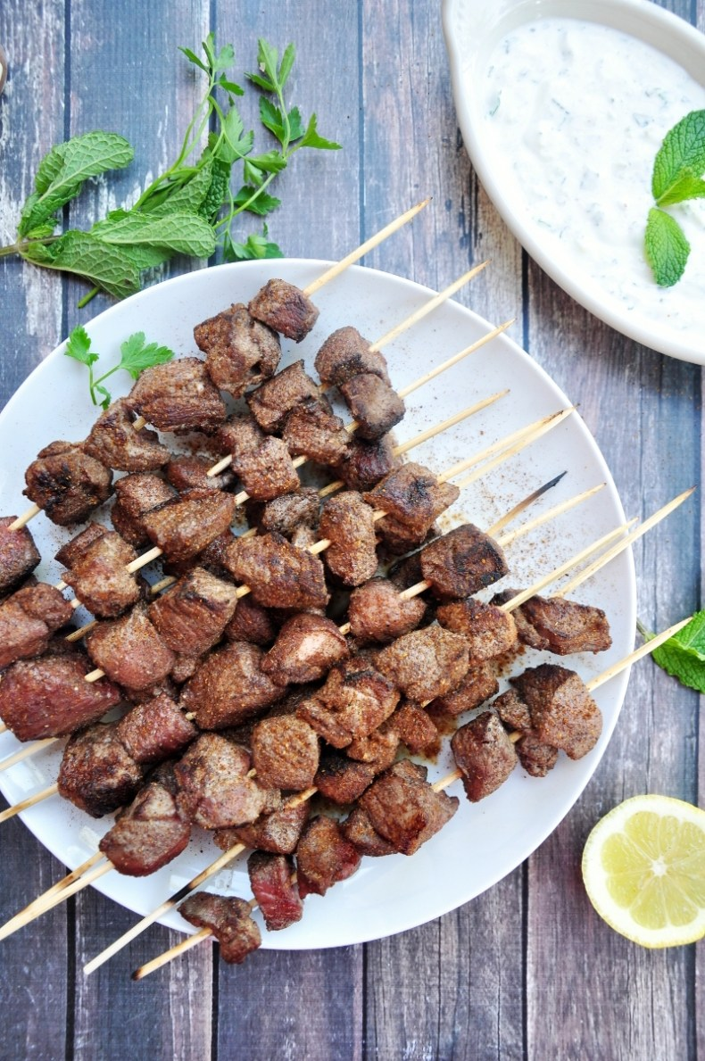 Served with tzatziki and seasoned with all the right spices, these lamb kabobs are perfect for a quick Greek-inspired dinner. Ready in 40 minutes or less.