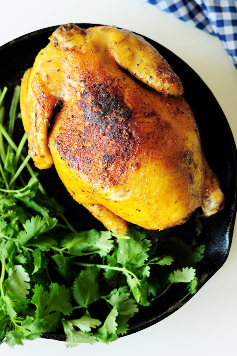 This sous vide whole chicken recipe will be the juiciest, tenderest, and most flavorful chicken you'll ever make. Follow the step-by-step guide to round up your perfect chicken dinner. By the way, it's not poached.