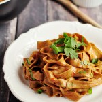 What's savory, spicy, and requires only six ingredients? These spicy Chinese noodles made with hot chili oil for authentic flavor. Gluten-free option included.