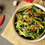 Thai Stir-Fried Water Spinach Recipe