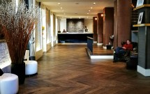 Boutique Hotel Lobby Design