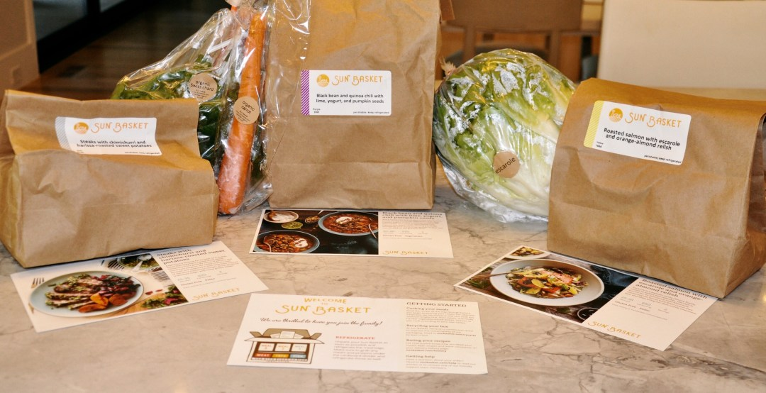 Sun Basket: Healthy Organic Cooking Right At Your Doorstep