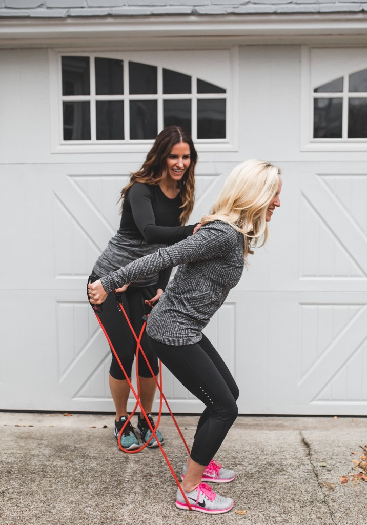 Merry New Year To All + A New Collab On Fitness And Food//Dallas Fashion Blogger/ Tiffany Davros/Lululemon workout clothes/nike flyknit running shoes/perform better resistance bands/SPRI resistance bands/